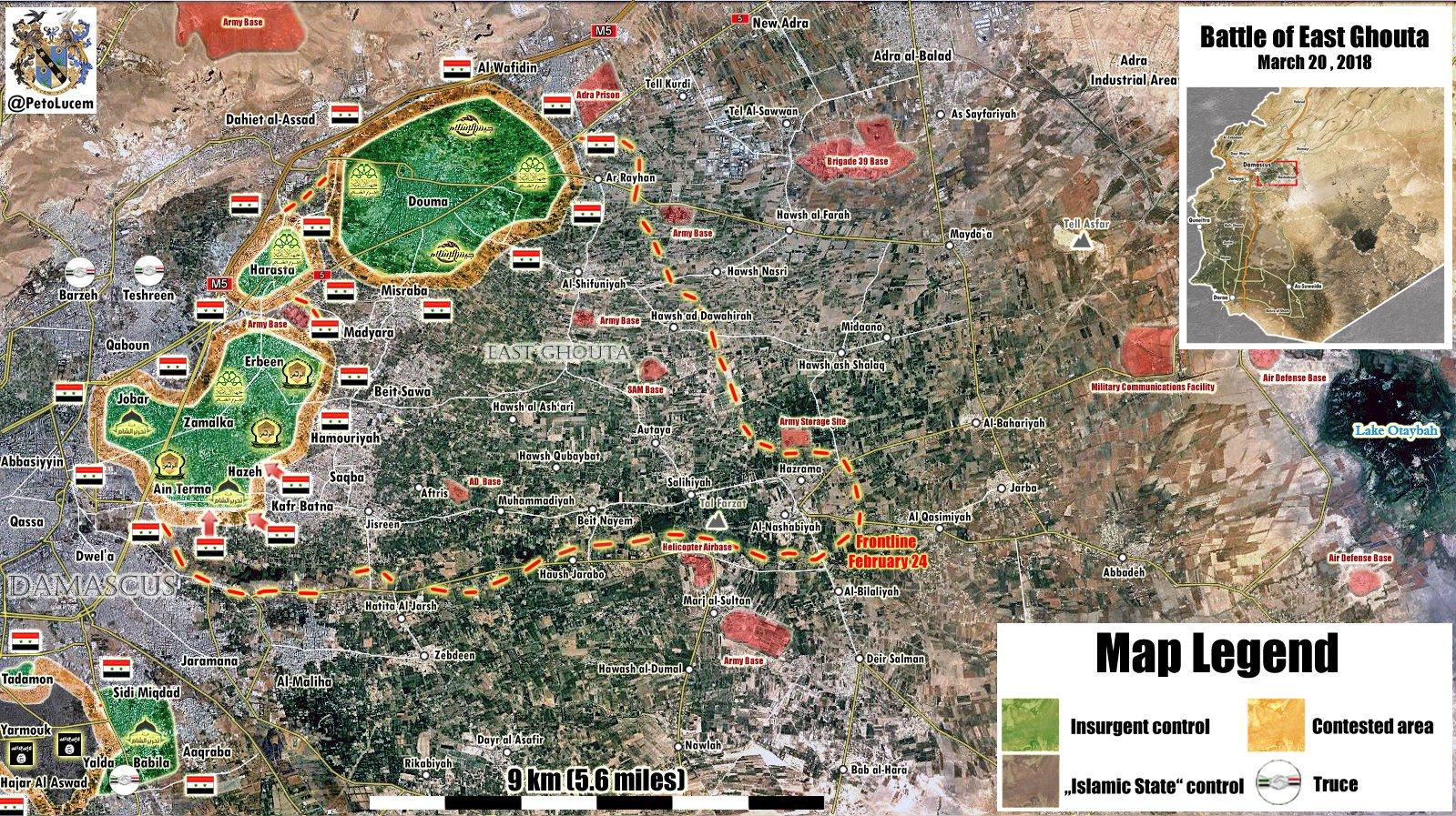 Oost-Ghouta–Strijd lijkt voorbij